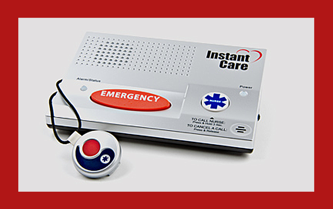Slip and fall emergency monitoring services independent lifestyle